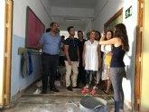 Ultiman las obras en el colegio Mediterráneo de Águilas