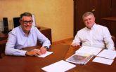 El presidente de la CHS mantiene una primera reunión de trabajo con el alcalde de Calasparra