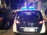 La Policía Local de Totana detiene a dos personas por delitos contra la seguridad vial durante el pasado fin de semana