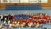 La selección de baloncesto de Murcia y la de Almería se enfrentan en tres partidos amistosos en Puerto Lumbreras