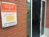 Se prorroga por un período de cinco años el servicio de gestión de la Oficina de Atención al Contribuyente del Ayuntamiento de Totana