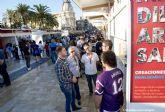 Artesanos y asociaciones juveniles de Cartagena dieron a conocer sus actividades en las dos ultimas ferias de octubre