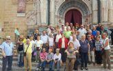 Los hogares inician el curso con una visita a Caravana con motivo del año jubilar