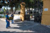 Mejoras en los camposantos municipales para la festividad de Todos los Santos 2017