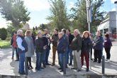 Mateos exige el acondicionamiento de la rambla de Los Arcos y la renovación del sistema de saneamiento aprovechando la remodelación de carretera de Caravaca