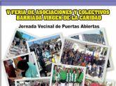 Colectivos y asociaciones de la Barriada Virgen de la Caridad exponen su trabajo en la V Jornada vecinal de puertas abiertas