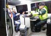 La Guardia Civil detiene en Cartagena al conductor de un turismo por circular en sentido contrario en autovía