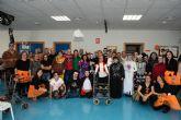 Los usuarios del Centro de D�a de Oersonas con Discapacidad celebran Halloween