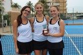Tres tenistas totaneras ganan el Campeonato de España por Equipos 3*categoría Absoluta