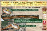 Se celebra el II Trofeo de Marcha Nórdica Ciudad de Cartagena en el Palacio de los Deportes