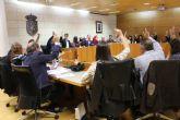 El Pleno acuerda apoyar la propuesta de trazado alternativo para la Línea Aérea de Alta Tensión de la subestación de tracción de Totana Adif, entre otros numerosos asuntos