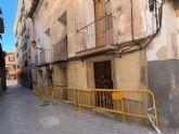 El Ayuntamiento de Lorca ejecutará, de manera subsidiaria, el saneamiento de varias fachadas y la limpieza de solares