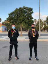 Oro, plata, plusmarcas y gran papel colectivo en el Nacional de Clubes Sub20