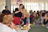 Gran comida de convivencia navideña en el Centro de Personas Personas