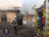 Incendios sin consecuencias en un restaurante de Cartagena y una vivienda en El Algar