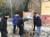 Las asociaciones 'La Carrahila' y Caramucel terminan los últimos días del año con labores del proyecto 'Legado vivo'.