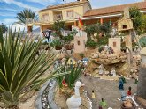 La Hoya cuenta con un Belén artesanal construido, al aire libre, entre plantaciones de lechugas y brócoli