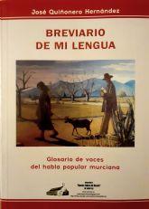 Un extenso Breviario sobre el habla popular murciana